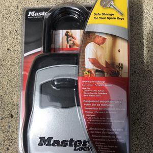 Brand New Master Lock $35 obo for Sale in Fairview, OR