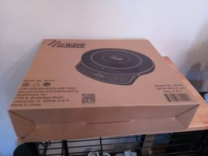 Cook top with fry pan Gold Precision induction multi stage cooking black new for Sale in Warren, MI