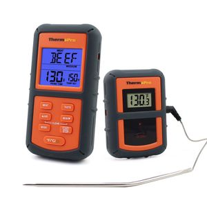 ThermoPro TP08 Wireless Remote Digital Kitchen Cooking Meat Thermometer - Dual Probe for BBQ Smoker Grill Oven - Monitors Food from 300 Feet Away by for Sale in Mount Juliet, TN