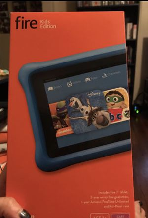 Kindle Fire Kid's Edition - 16GB - 5th Generation for Sale in Tampa, FL