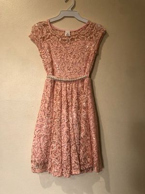 New Peach Lace Girls Dress for Sale in Hacienda Heights, CA