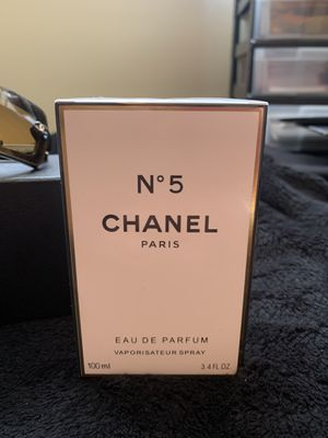 Unopened New CHANEL # 5 perfume 3.4oz. for Sale in Milwaukie, OR