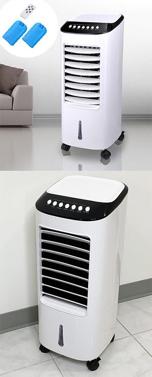 "New in box $75 Portable 11x11x27"" Evaporative Air Cooler Fan Indoor Cooling Humidifier w/ Remote Control for Sale in Whittier, CA"