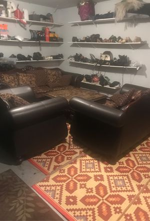 3 pics sofas and coffee table for Sale in Kent, WA