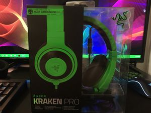 Razer Kraken Pro gaming headphone (pc,Xbox,ps4) for Sale in Lincoln Park, MI