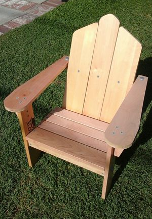 Kids Adirondack Chair - Natural Maple Wood - $35 - New for Sale in Cerritos, CA