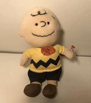Charlie Brown TY BEANIE BABIES Popular PEANUTS Collectible Plush Stuffed toy for Sale in Boca Raton, FL
