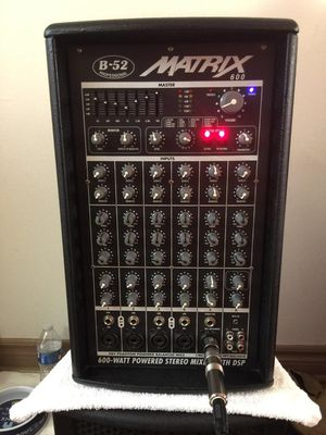 B52 Matrix 600 for Sale in Claremont, CA