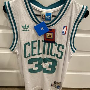 Boston Celtics Larry Bird White Jersey Adidas Jersey for Sale in San Antonio, TX