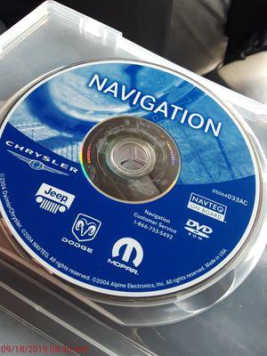 Chrysler Jeep Dodge Mopar Navigation DVD. for Sale in Los Angeles, CA
