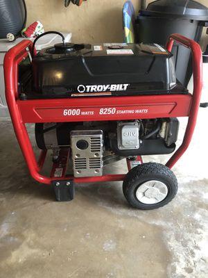 Troy Bilt Generator 6000 Watts for Sale in Spring, TX