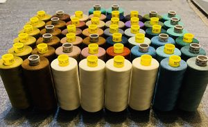 50 PCS GUTERMANN THREAD 100 % POLYESTER DIFFERENT COLORS MADE IN GERMANY ! 🇩🇪 for Sale in Long Beach, CA