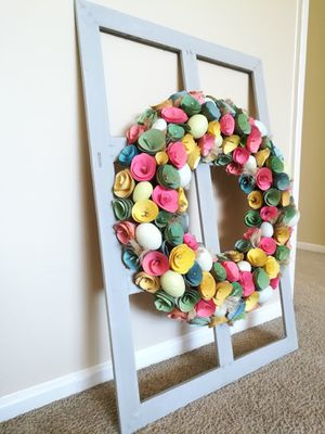 Gorgeous Floral Wreath on Frame Home Decor for Sale in Sunnyvale, CA