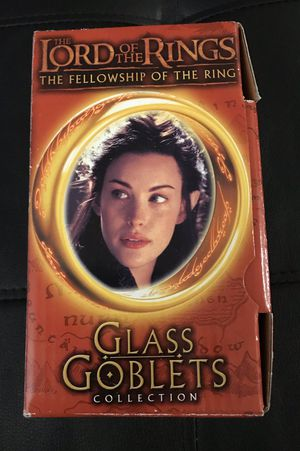 The Lord of the Rings Glass Goblets Collection Arwen for Sale in Fairfield, OH
