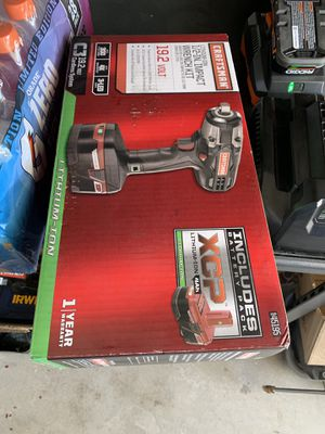 Craftsman impact wrench 19.2v for Sale in Stockton, CA