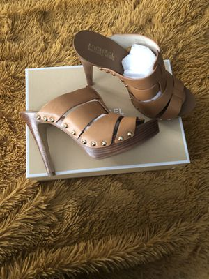 Michael by Micheal Kors Somerly Mule   Color: Peanut   Size 7.5 for Sale in Freehold, NJ