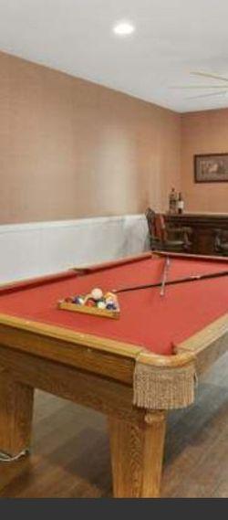 Olhausen 3 Slate Pool Table for Sale in Ashburn,  VA
