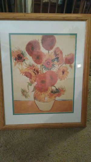 Picture of flowers in vase for Sale in Colorado Springs, CO