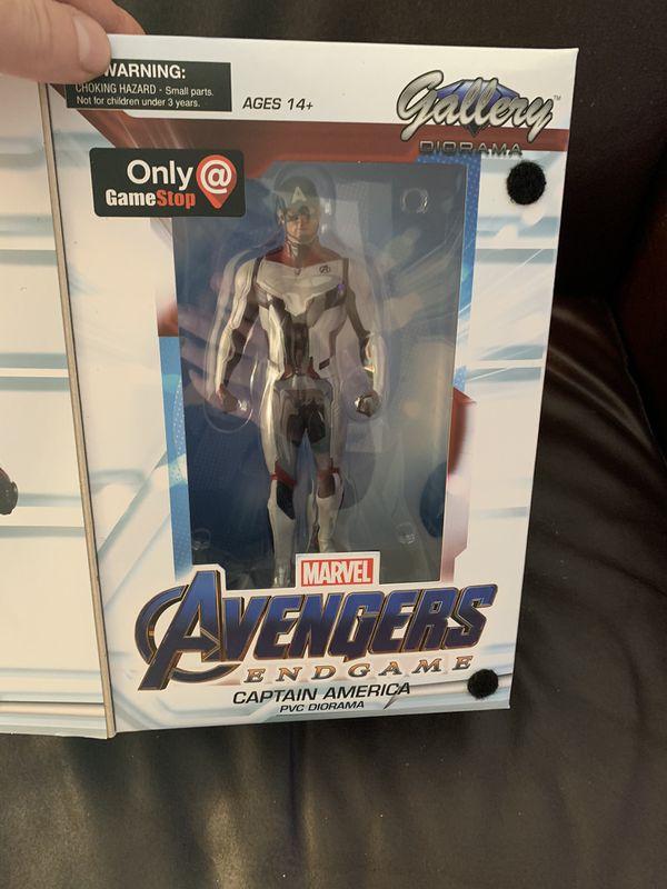 Marvel Captain America Diorama
