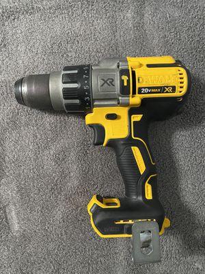 Hammer drill DEWALT XR BRUSHLESS 3 speed (tool only ) for Sale in Deer Park, TX