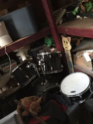 Drums 7 piece with double bass for Sale in Durham, NC