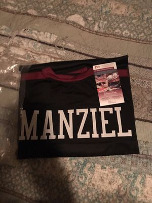 Johnny Manziel autographed jersey college for Sale in Modesto, CA