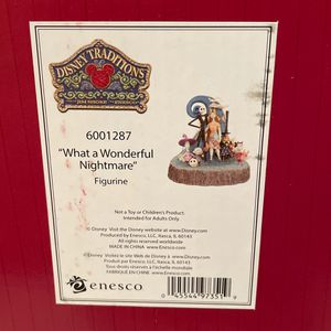 """Nightmare Before Christmas - """"what A Wonderfuloo Nightmare"""" Brand New In Box! Disney Traditions! for Sale in Buena Park, CA"""