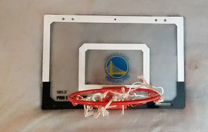 Warriors small basketball hoop*free* for Sale in Lafayette, CA