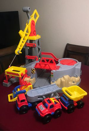 Kids Toys. Trucks and Crane. for Sale in Chino, CA