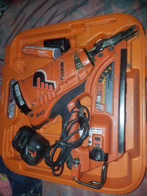 Paslode 30-degree cordless framing nail gun for Sale in Houston, TX