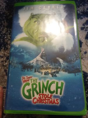 How the Grinch stole Christmas VHS for Sale in Anaheim, CA