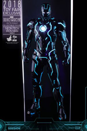 Hot Toys Iron Man 2 Neon Tech Mark IV Figure for Sale in Santa Ana, CA