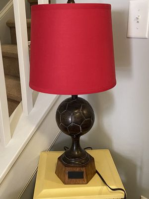 Soccer lamp for Sale in Fuquay-Varina, NC