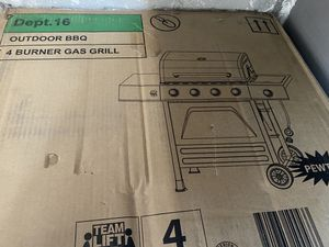 Bbq grill 4 burner for Sale in Tracy, CA