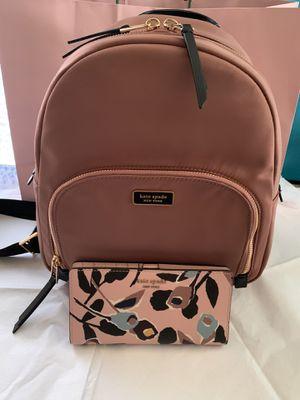 Kate Spade Beautiful Backpack Set for Sale in Los Angeles, CA