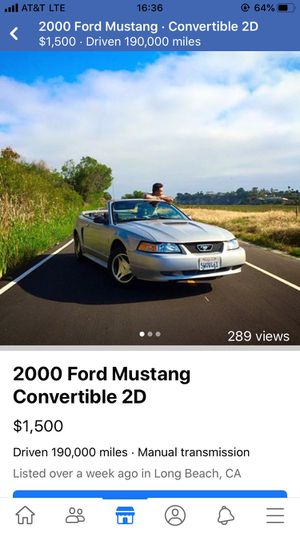 00 V6 manual Mustang for Sale in Long Beach, CA