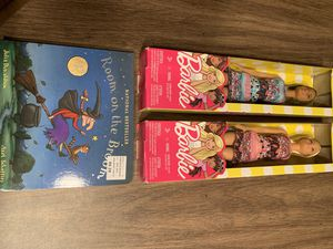 Brand New Barbie Dolls and Halloween Book for the Holidays! for Sale in Lancaster, MA