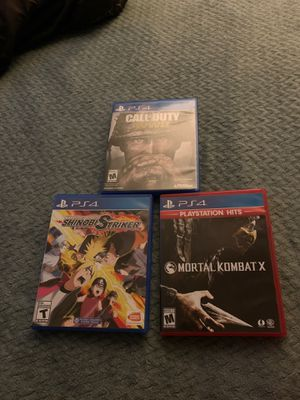 3 PS4 Games for Sale in San Diego, CA