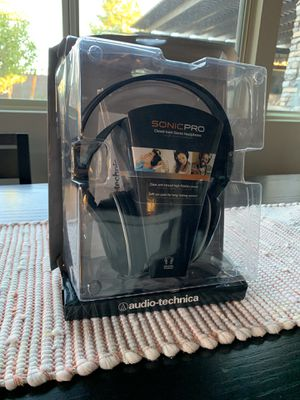 Sonic Pro Audio Technica ATH-T200 stereo headphones for Sale in Moapa, NV