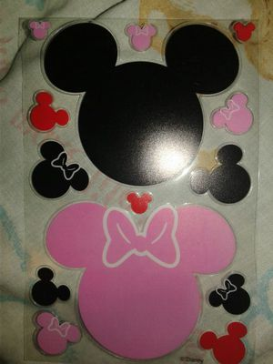 Mickey & Minnie Mouse Ears Sticker Sheet for Sale in Portland, OR