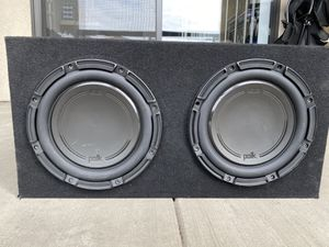 "2 10"" Polk Audio Subs w/ Alpine Amp for Sale in National City, CA"