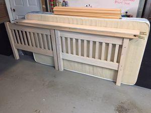 Twin size bed frame for Sale in Central Houghton, WA