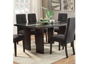 Dark Grey Wood Dining Table for Sale in South El Monte, CA