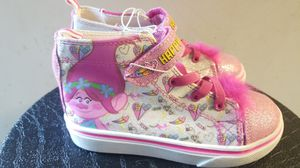 Trolls poppy shoes kids sneakers size 11 and 6 for Sale in Claremont, CA