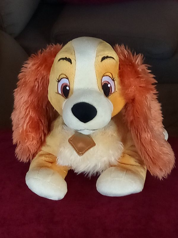 Lady plush toy of Disney