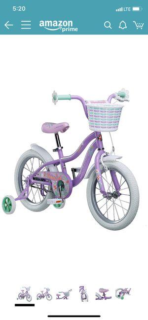 """NIB Schwinn girls 16"""" bike with training wheels for Sale in Carnegie, PA"""