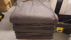 $8 Each..Brand New! Supreme Moving Blankets, 65lbs Per Dozen, Black And Blue, 72 x 82 for Sale in Chelan, WA