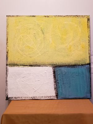 ABSTRACT ACRYLIC ART ON CANVAS for Sale in Chicago, IL