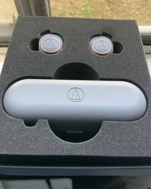 Audio technica wireless Bluetooth headphones earbuds for Sale in Austin, TX
