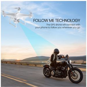 Potensic T35 GPS Drone, RC Quadcopter with 1080P Camera FPV Live Video, Dual GPS Return Home, Follow Me, Altitude Hold, 2500mAh Battery Long Control for Sale in Chino, CA